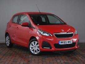 PEUGEOT 108 1.0 Active 5dr (red) 2015