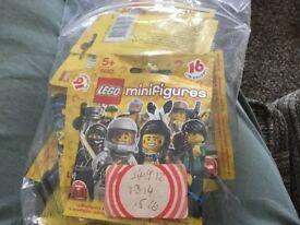 Lego minifigures series I