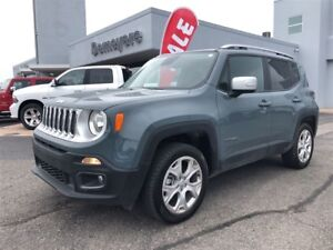 2017 Jeep Renegade Limited NAV, heated seats, backup cam