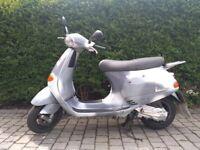 Piaggio Vespa ET4, 12507 miles, good condition