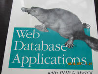 Web Database Applications With PHP & My SQL