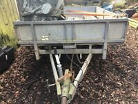 Ivor Williams 10ft Double axle general purpos trailer with ramps