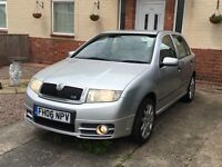 Fabia VRS good condition new clutch fitted.