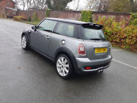 2007 MINI COOPER S,175 BHP,TURBO,CHILLI PACK,LONG MOT,SERVICE HISTORY,NEW TIMING CHAIN,XENONS,P/X ..