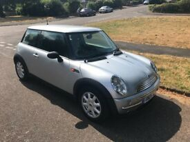 2004 MINI One 1.6 Petrol, Manual with Service History and 2 Keys
