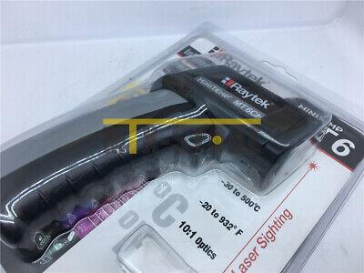 1pcs Raytek Mt6 Infrared Mini Temp Laser Thermometer Ir Gun -30 To 500