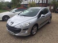 Peugeot 308 1.4 only 70 fsh cheap tax