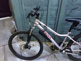 "Apollo girls bike 24"" frame - excellent condition."