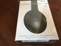 BOSE QC35 Wireless Headphones black sealed new Noise cancelling