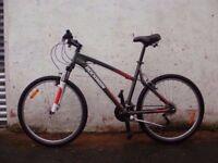 DECATHLON ROCKRIDER MTB MOUNTAIN BIKE 18 inch; FRAME 21 SPEED