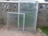 Aluminium Framed Glass Panes for Coldframe?