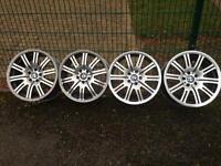 "BMW M3 19"" diamond cut alloy wheels"