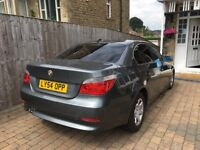 2004 BMW , 5 SERES 525 D , DIESEL, FULL BLACK LEATHER, SAT NAV , AUTOMATIC, DRIVE GREAT,