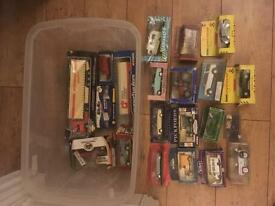 Boxed model Diecast vehicles Cars and trucks x21