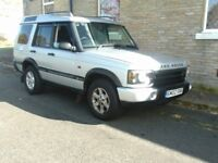 Landrover Discovery 2.5 TD5 GS in Silver