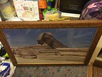 Large wooden frame