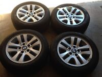 BMW 3 Wheels and winter tyres . Crewe Cheshire