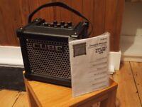 Roland Micro Cube GX Guitar Amplifier