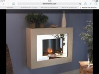 Brand new 'aspiration' wall mounted electric heater