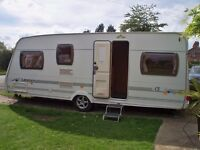 FIXED BED 2006 2007 Spec LUNAR LEXON CS 4 Berth Caravan Motor Mover Gloucester with / out Extra Pack