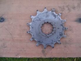 Yamaha XT500/SR500 gearbox sprocket 15 teeth