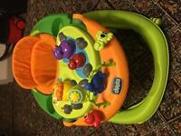Chicco walky talky baby walker (good condition)