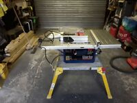 Clarke cts10d table saw and clarke cms10s2 slididing mitre saw £200
