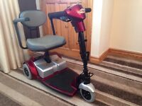 strider mobility scooter folds down for transporting good condition unwanted gift bargain only £170