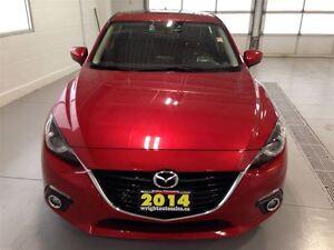 2014 Mazda MAZDA3 SPORT GT| LEATHER| SUNROOF| BACKUP CAM| BLUETO Cambridge Kitchener Area image 11