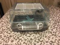 3 floor hamster cage