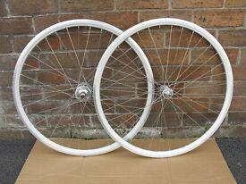 Fixed gear wheels track wheelset