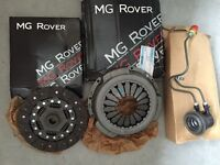 Clutch assembly for Rover 75,RoverV8/MG ZT+T series & Land Rover Freelander TD4 Models