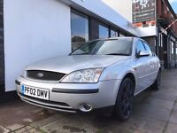 Ford Mondeo 2.5 Ghia X 5dr PARTS & LABOUR WARRANTY