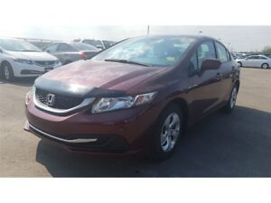2014 Honda Civic LX | Automatic | Heated Front Seats, Bluetooth