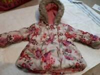12-18 month girls winter coat