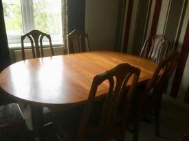 Dining Table & Chairs For Sale.