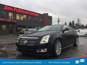 2013 Cadillac CTS Coupe AWD w/NAV, leather, roof