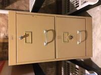 For Sale: 2 drawer filing cabinet