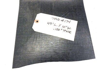Unknown Brand Conveyor Belt Black Pvc 49 L. 10 W. .136 Thick