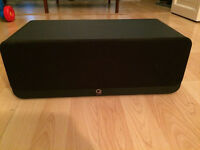 Q Acoustic 2000C Gloss Black Centre Speaker