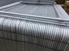 Heras style fencing, temporary panels