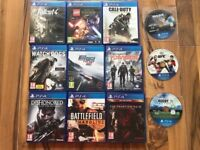 playstation 4 (ps4) games , £10 each , as new ! Price stands , no offers !