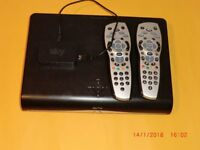 SKY BOX WITH TWO REMOTES