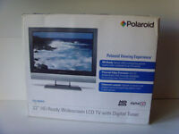 "Polaroid 22"" HD Widescreen HDMI LCD TV Monitor possible swap for tablet, laptop, phone"