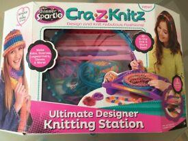 Children's knitting loom kit