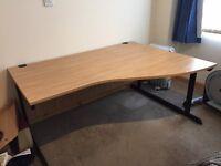 Large office desk - excellent condition