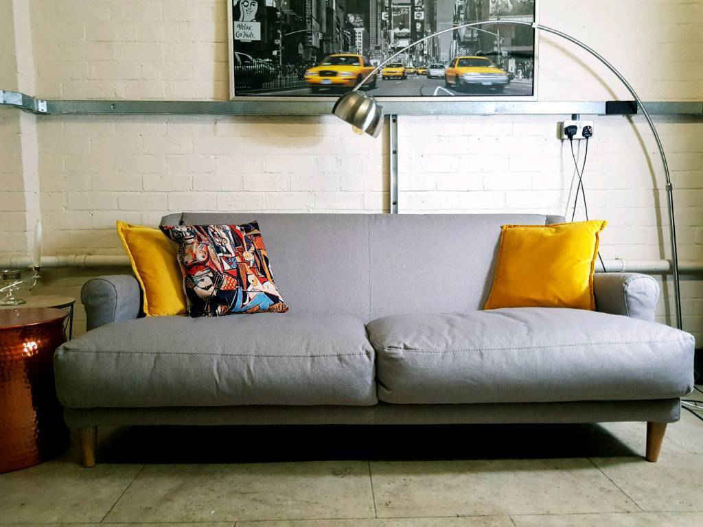 Habitat Brand New Townsend 2 Seater Sofa Rrp 1200