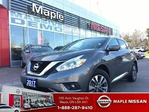 2017 Nissan Murano SL AWD--NON-RENTAL, Leather,Roof, Navi