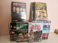 COLLECTION OF CRIME DVDS.