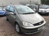 2003 03 FORD GALAXY AUTOMATIC 2.3 SEVEN SEATER IDEAL RUNNER WORKHORSE FAMILY CAR WITH NEW MOT CHEAP!